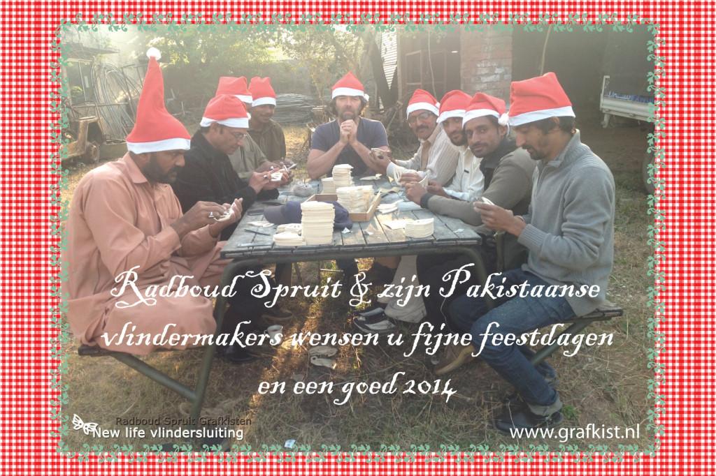 Kerstkaart Radboud Spruit Grafkisten 2013